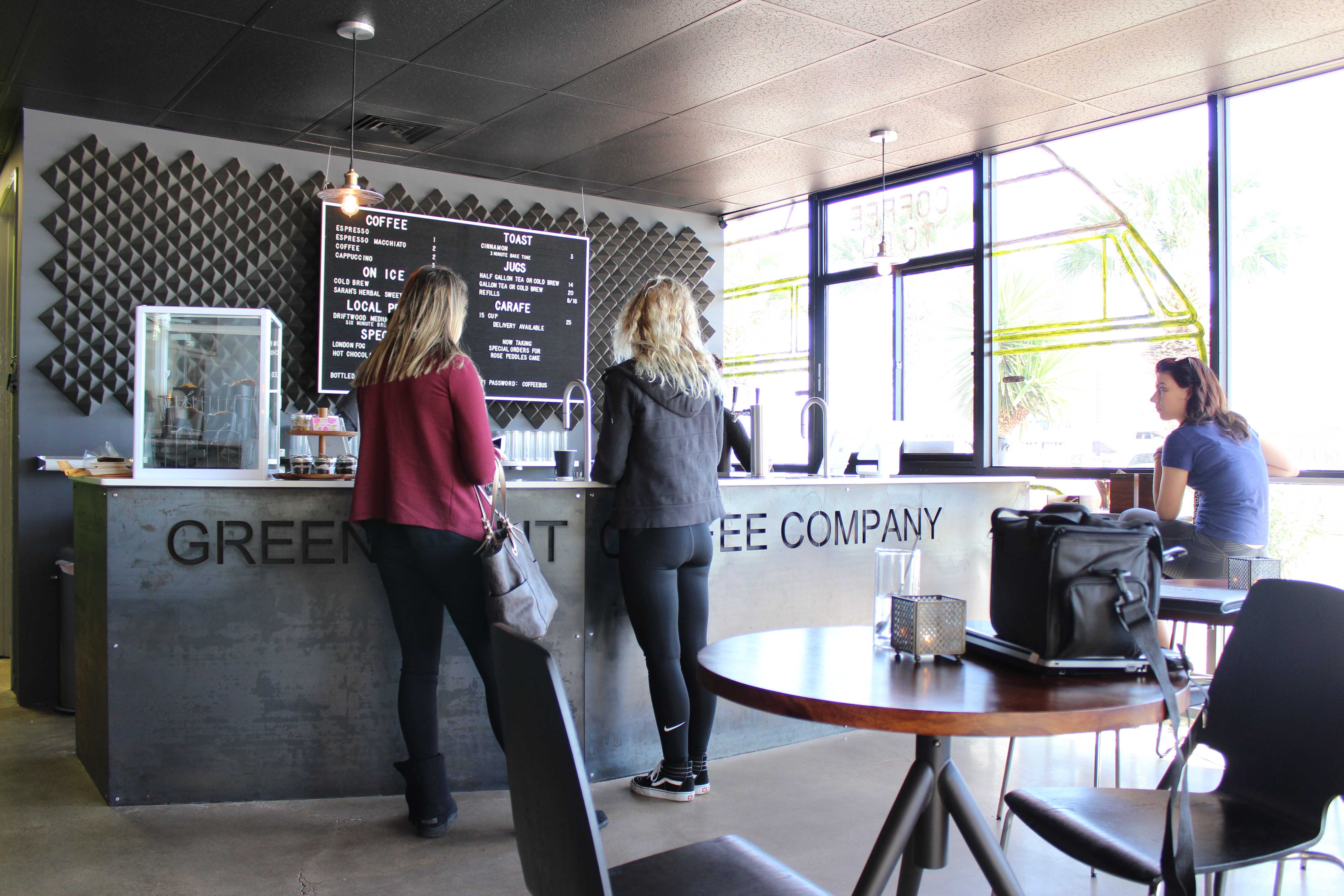 Green means go for new coffee shop