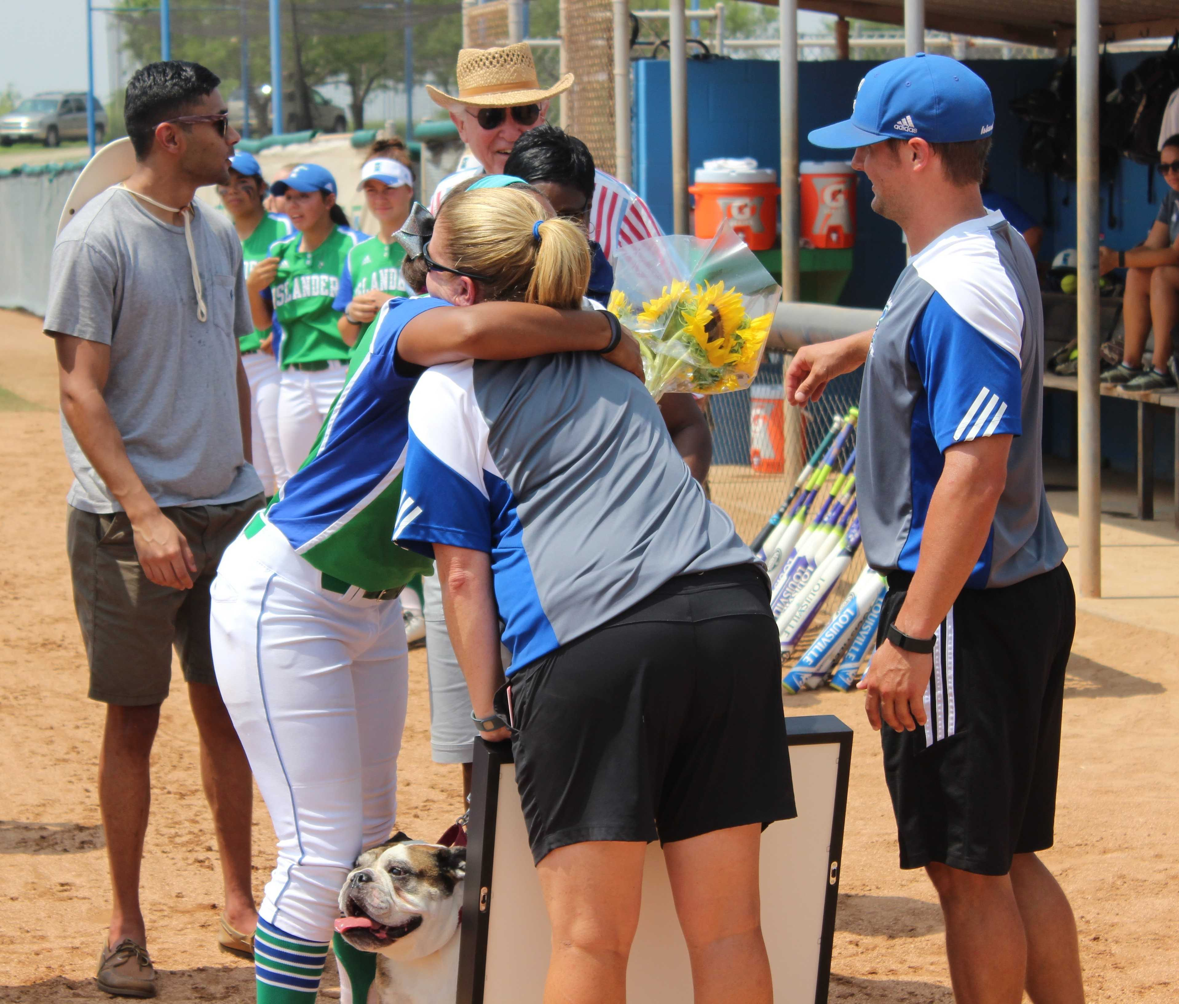 Softball Team Honors Seniors