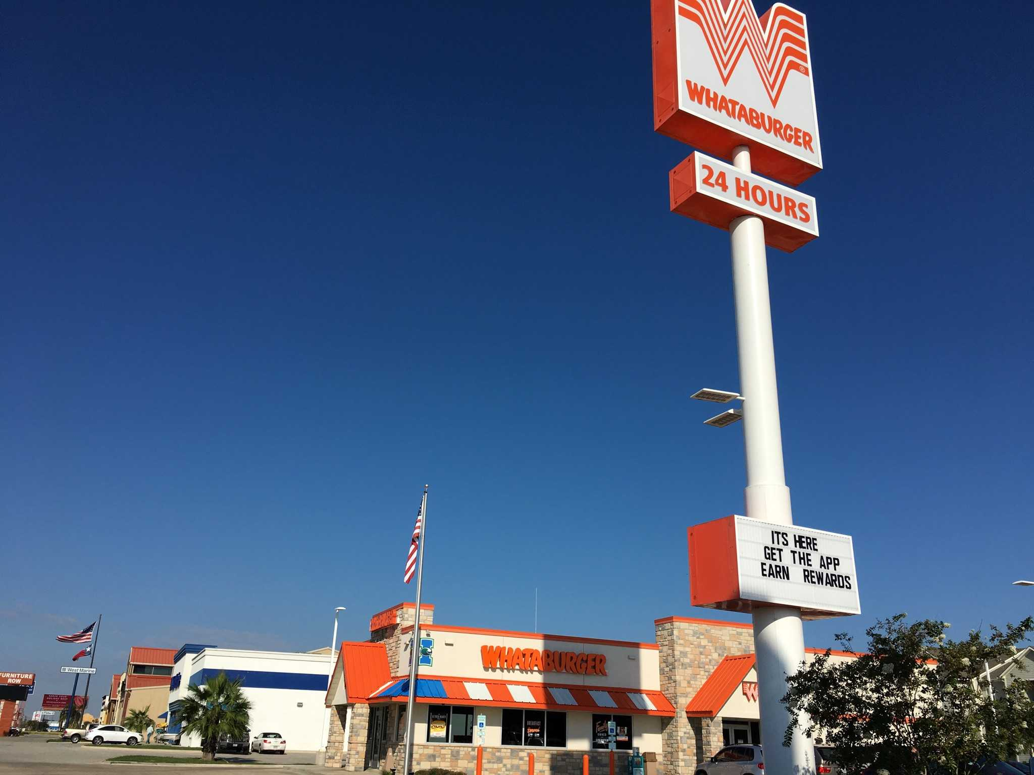 Whataburger rewards with mobile app