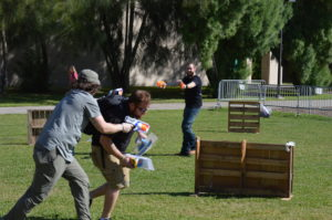 SVO sponsors Nerf and Turf War fundraiser