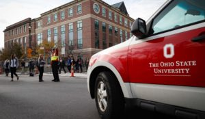 Student stabs, plows pedestrians at OSU