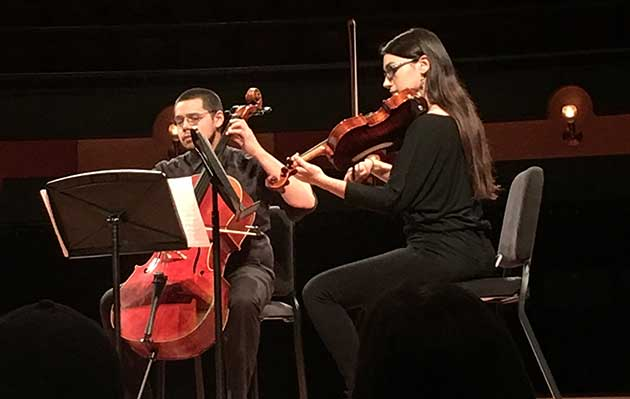 TAMU-CC presents Lichtenstein string quartet