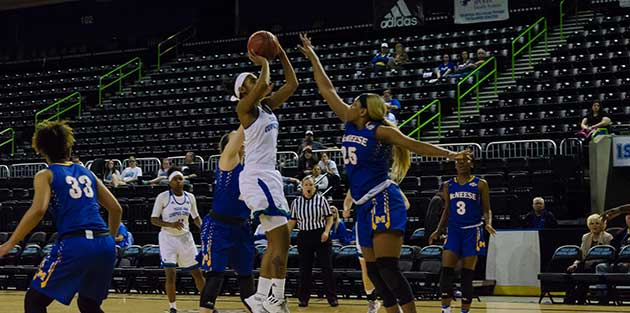 Islander women win against McNeese