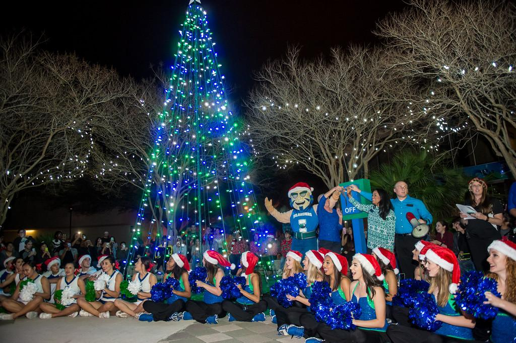 The University Hosts 12th Annual Islander Lights