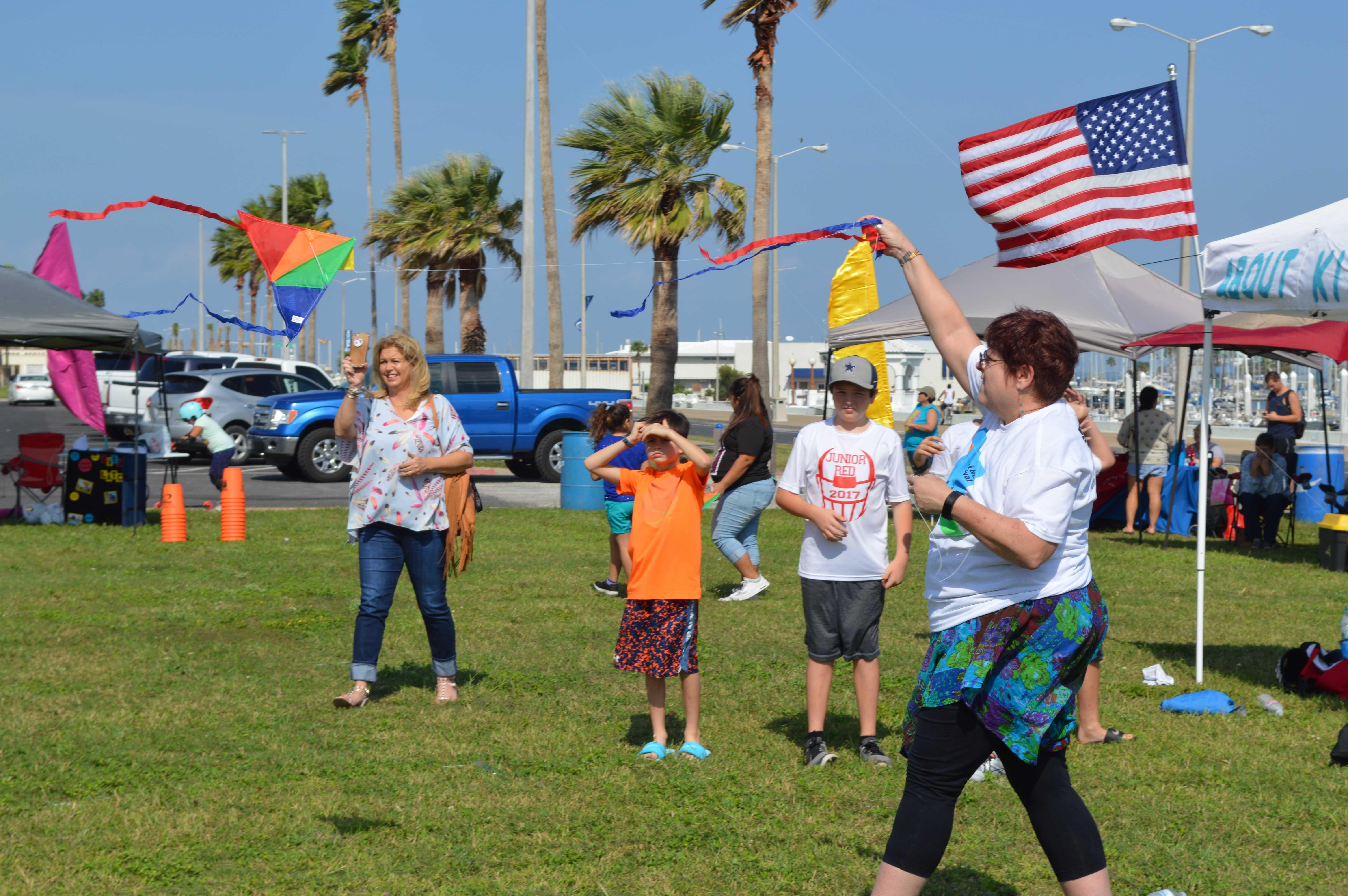 Corpus Christi Community enjoys Bike and Kite Festival