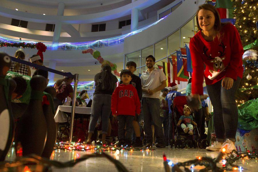 University lights the way toward holiday fun