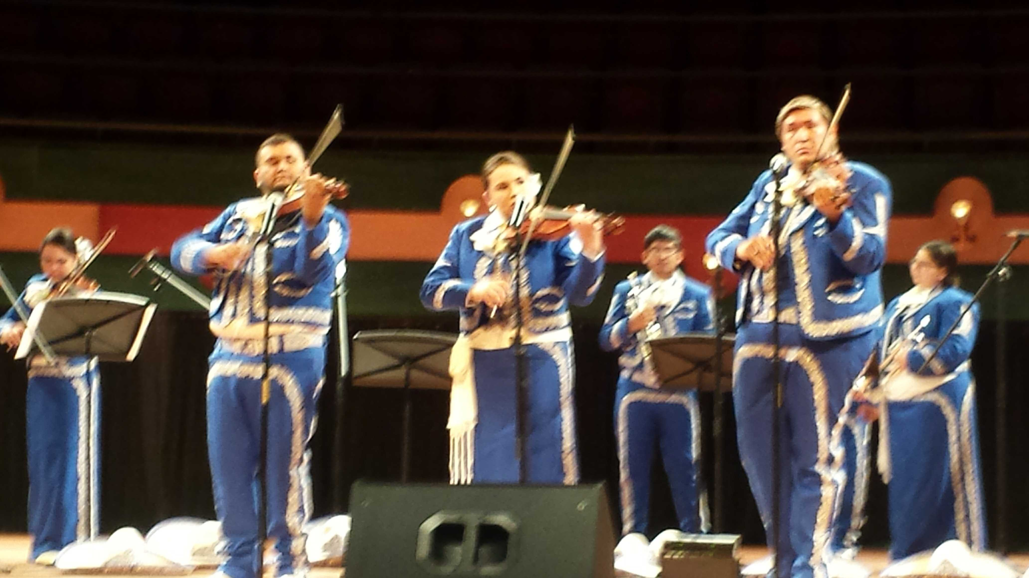Photo by Jennifer Cortez/ISLAND WAVESTAMUCC's first ever mariachi band kicks off their performing career at the PAC.