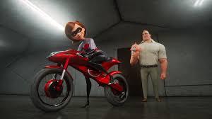 Elastigirl confronts gender norms right alongside villains in Disney Pixar's Incredibles 2