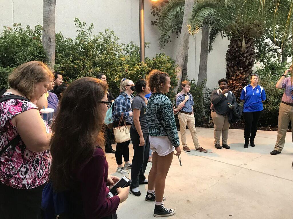 Student Government Association hosts Campus Safety Walk