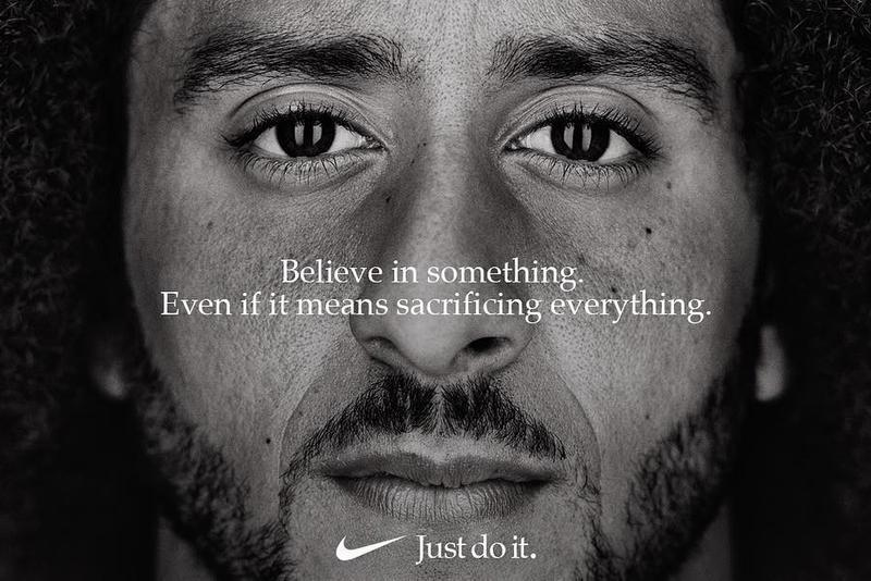 Nike's advertisements featuring Colin Kaepernick causes controversy