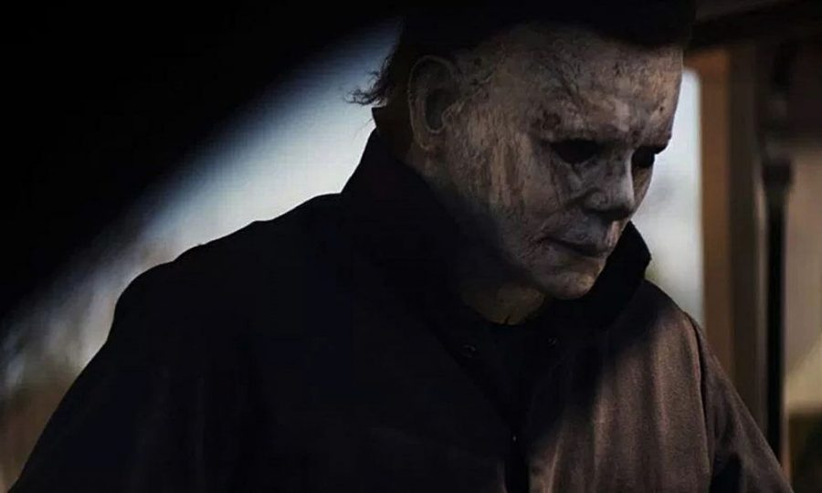 Michael+Myers+%28Nick+Castle%29+dons+the+familiar+mask+once+again.+Image+courtesy+of+Blumhouse+Productions