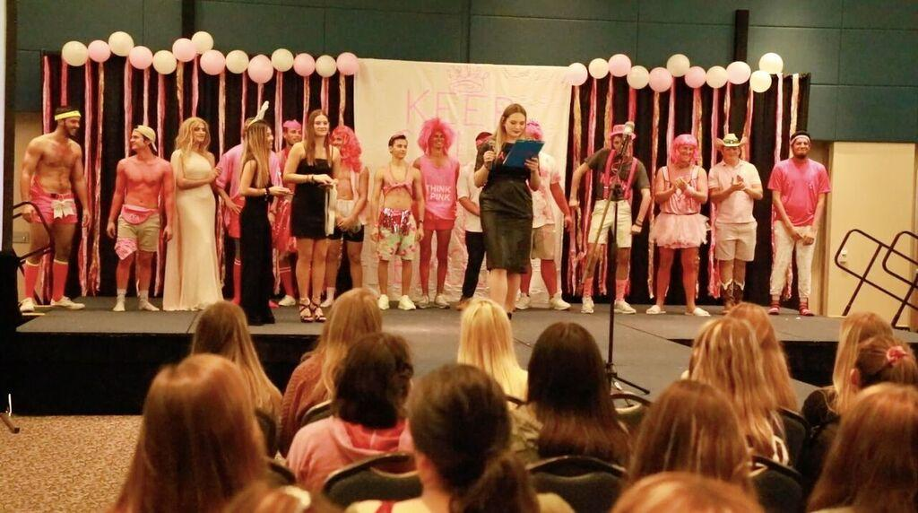 Zeta Tau Alpha hosts Big Man on Campus to raise money for breast cancer awareness