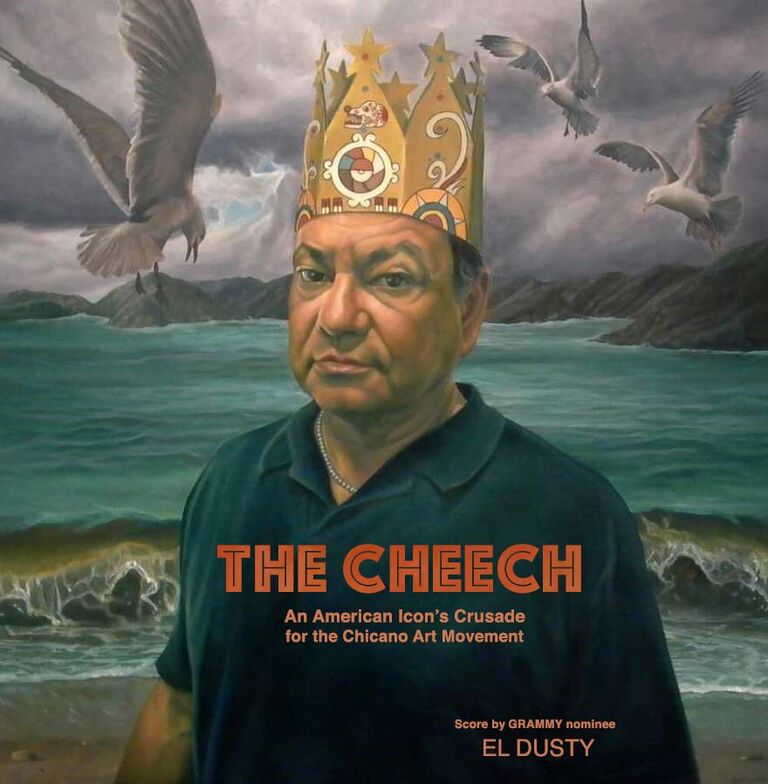Movie+poster+for+%E2%80%9CThe+Cheech%2C%E2%80%9D+a+short+documentary+film+about+Cheech+Marin+and+Chicano+art.+Digital+art+courtesy+of+Edward+Tyndall+and+Nancy+Miller%C2%A0