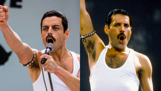 "When watching ""Bohemian Rhapsody,""it was as if Freddie Mercury himself possessed Malek for this movie. Image courtesy of Smoothradio.com"