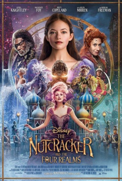 "Image courtesy of Walt Disney Pictures Promotional poster art for ""The Nutcracker and the Four Realms."""