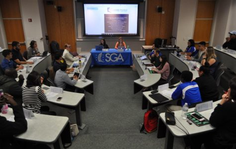 SGA holds first Senator meeting of spring 2019