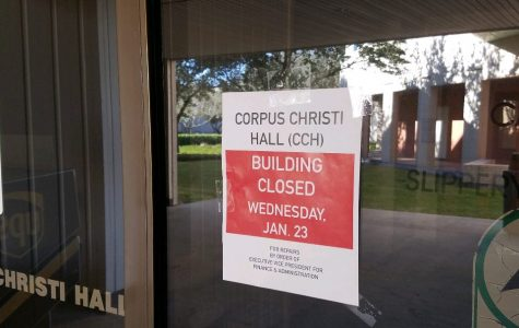 Code Blue – Corpus Christi Hall closed