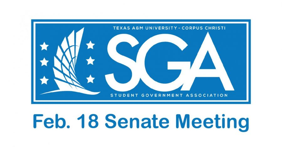 Senator's meeting recap: Feb. 18, 2019
