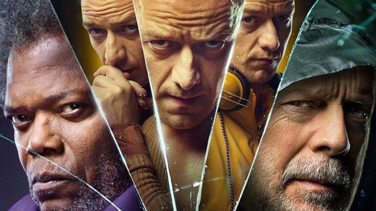 Glass movie poster. Photo courtesy of Universal Pictures
