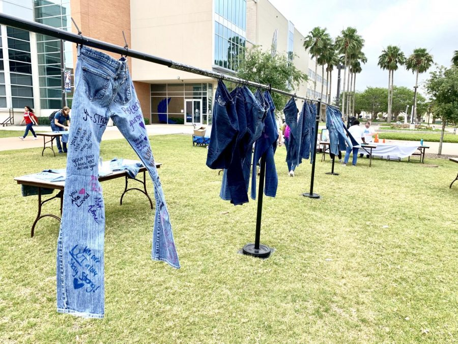 Denim Day on campus brought awareness to sexual assault