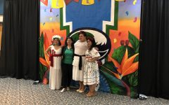 Las Muralistas unveil finished mural for Hispanic Heritage Month