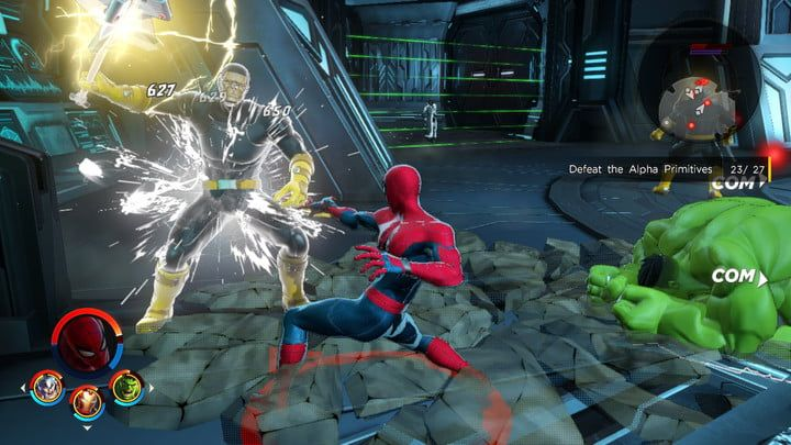 MUA 3 - Spider-Man goes toe-to-toe against an Alpha Primitive in
