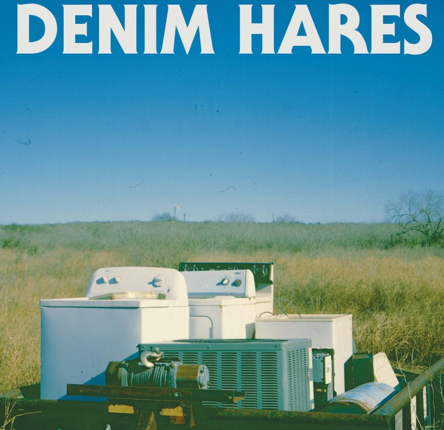 Album cover courtesy of Bandcamp - Denim Hares' debut full-length LP captures the band's output over the years — showcasing both the band's raw, psychedelic energy but also their dancey, garage rock roots.