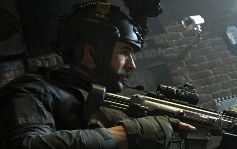 """Photo courtesy of PC Gamer - SAS Captain John Price leads his squad on a stealth operation to take down terrorists in Camden Town in """"Call of Duty: Modern Warfare."""""""