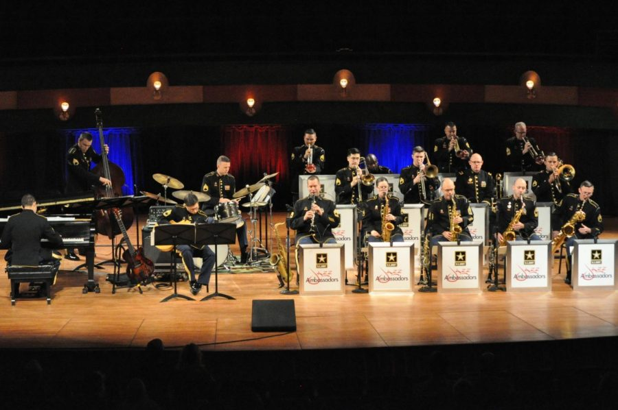 """Matthew Tamez/ISLAND WAVES The Jazz Ambassadors are known as """"America's Big Band,"""" and their sound is proof of that."""