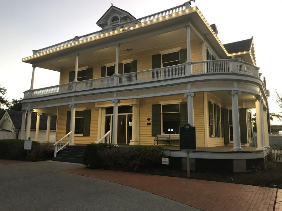 Matthew Tamez/ISLAND WAVES- The Galvan House at Heritage Park is host to a number of stories involving unexplained phenomena.