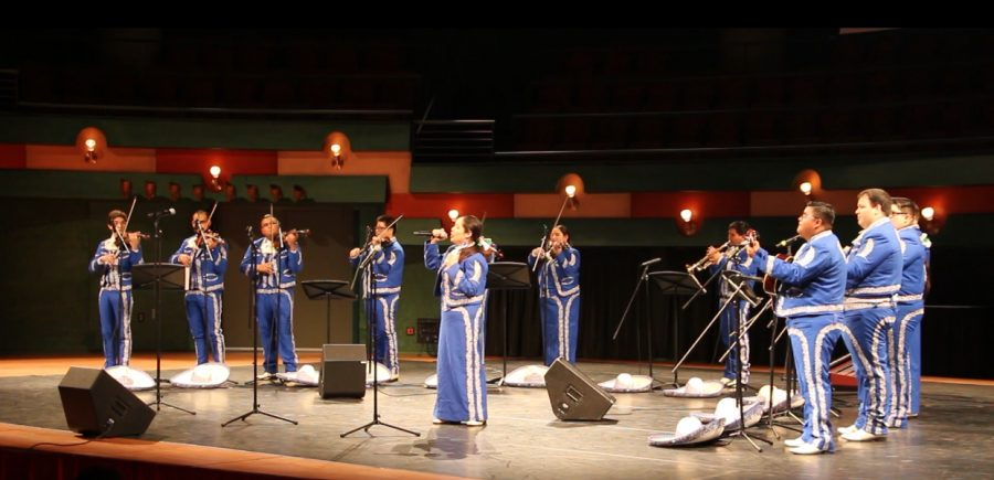 Kedran Wade/ISLAND WAVES - Mariachi de la Isla hit the stage to perform for a full house.