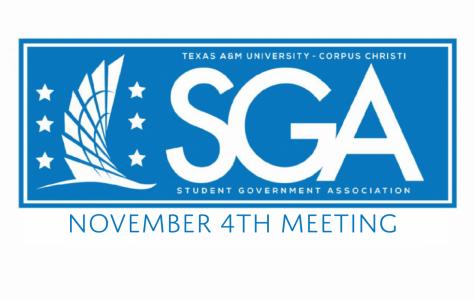 SGA senate meeting 11-04-19