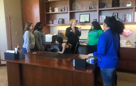 President opens office to students for Black Islanders Meet & Greet