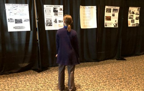 Students navigate history in Project Grad's Black History Month Tunnel
