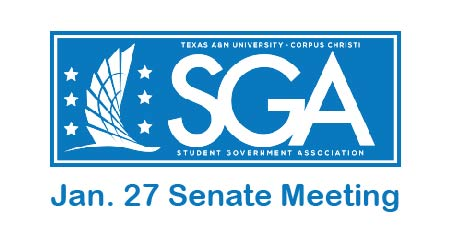 SGA senate meeting 01-27-20