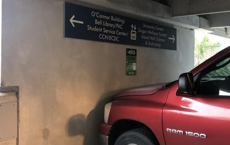 A portion of the Bayside Parking Garage's second floor has been reserved for ParkMobile visitors.