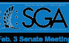 SGA senate meeting 02-03-20