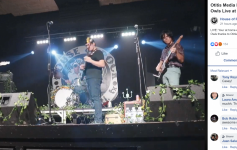 The Blind Owls perform a livestreamed set at the House of Rock as part of a series the venue is hosting to provide entertainment to those remaining at home amid the ongoing COVID-19 pandemic.