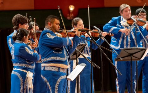 Mariachi De La Isla at the Performing Art Center where they will livestream a performance on Nov. 11.