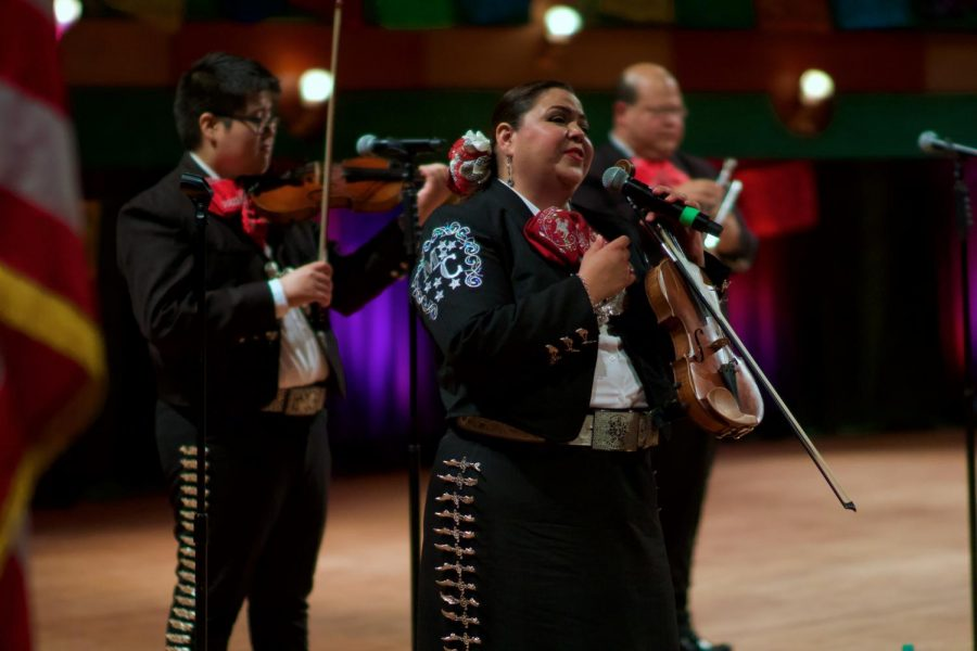 Mariachi Mexicanisimo played during the virtual HHM Kickoff.