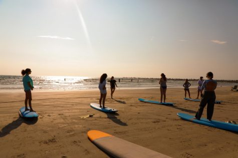 Rec Sports Hosts a surfing workshop through this pandemic