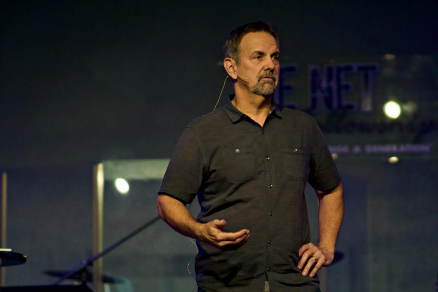 Glenn Holland, Lead Pastor, and founder, of The Net