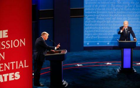 President Donald J. Trump and former Vice President Joe Biden began the first round of debates.