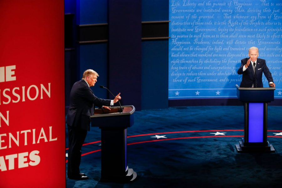 President Donald J. Trump and former Vice President Joe Biden began the first round of debates.