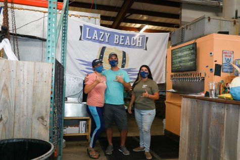 The best brewery for Islanders is right at Lazy Beach