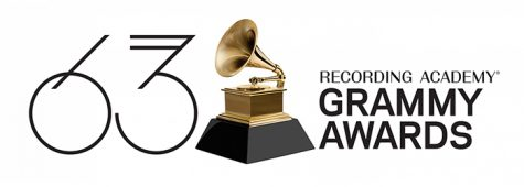 logo for the 63rd annual Grammy Awards