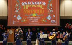 Mariachi de la Isla performs at the Texas A&M University-Corpus Christis Hispanic Heritage Month Kick-Off on Sept. 15 in the UC Anchor Ballroom.